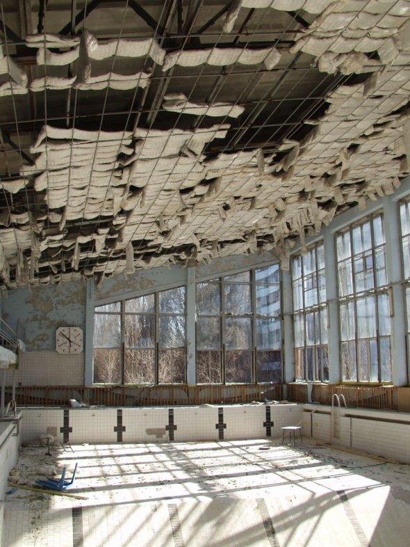 "Alberca Olimpica ""Celeste"" - Pripyat, Ucrania"